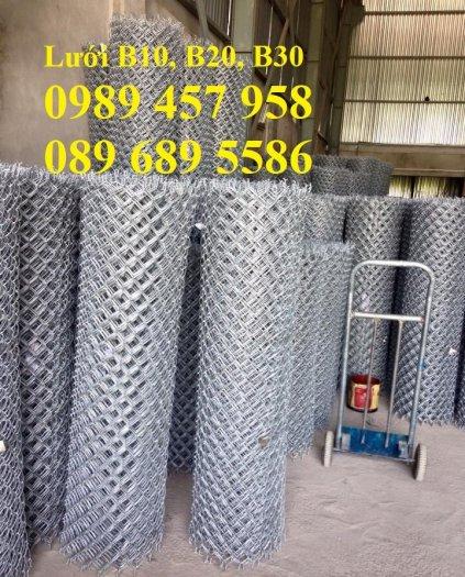 Cung cấp lươi thép b30 bọc nhựa, Lưới thép làm chuồng gà B30 30x304