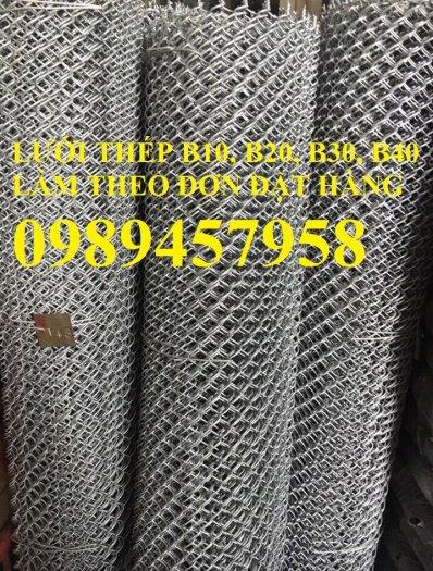 Cung cấp lươi thép b30 bọc nhựa, Lưới thép làm chuồng gà B30 30x300