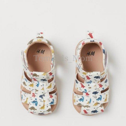 Dép Sandal rọ HM dư xịn, giày rọ họa tiết khủng long cho bé trai/bé gái cực đẹp, chất đi mềm mại, thoáng mát5