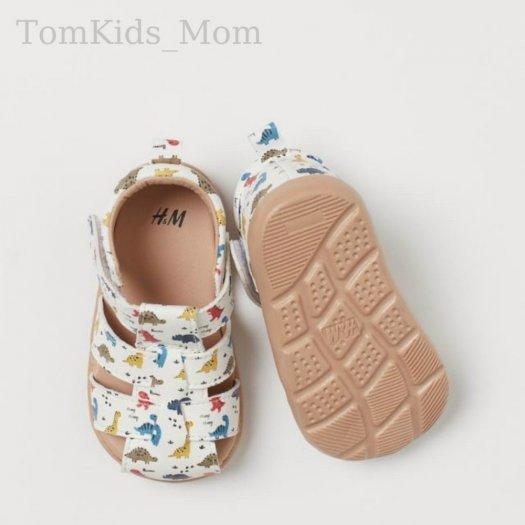 Dép Sandal rọ HM dư xịn, giày rọ họa tiết khủng long cho bé trai/bé gái cực đẹp, chất đi mềm mại, thoáng mát2