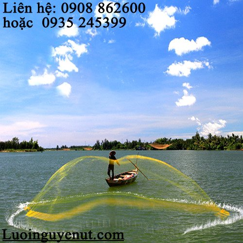 Chài cá ném bắt thủy hải sản3
