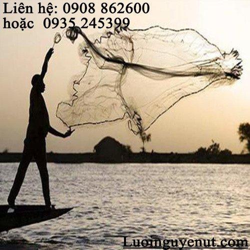 Chài cá ném bắt thủy hải sản2