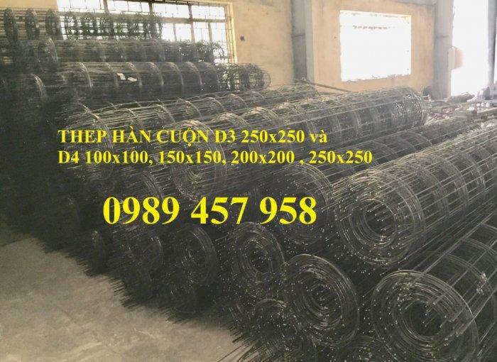 Lưới thép hàn có sẵn phi 4 - Lưới thép đổ sàn bê tông - Lưới thép hàng rào có sẵn9