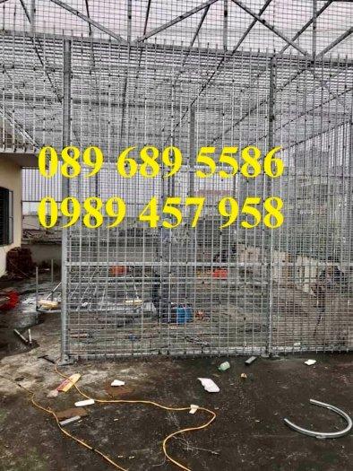Lưới thép hàn có sẵn phi 4 - Lưới thép đổ sàn bê tông - Lưới thép hàng rào có sẵn3