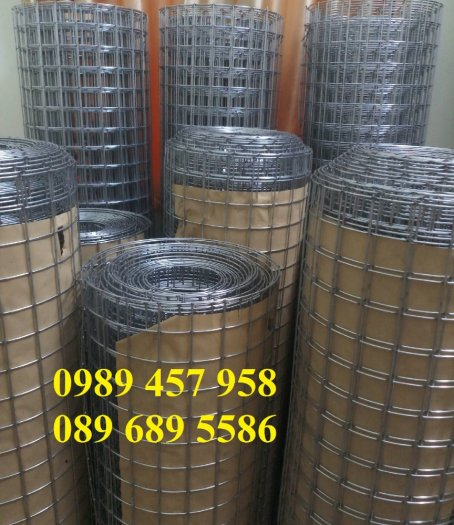 Lưới thép hàn có sẵn phi 4 - Lưới thép đổ sàn bê tông - Lưới thép hàng rào có sẵn2