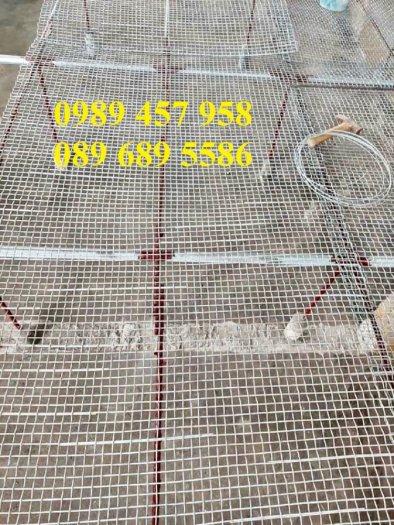 Lưới thép hàn có sẵn phi 4 - Lưới thép đổ sàn bê tông - Lưới thép hàng rào có sẵn1