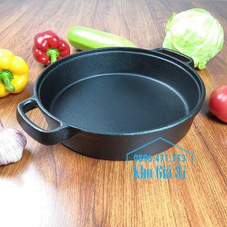 Chuyên cung cấp nồi gang đen đúc nguyên khối, nồi gang đen nấu lẩu cho nhà hàng, nồi gang đen cao cấp nhập khẩu nắp gỗ31