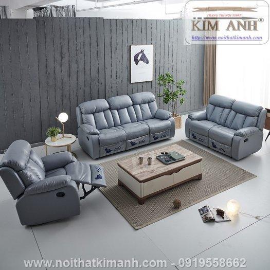 Sofa da cao cấp cho phòng khách thêm sang trọng tại Bến Cát, Bình Dương6
