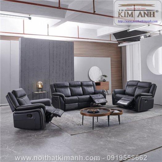 Sofa da cao cấp cho phòng khách thêm sang trọng tại Bến Cát, Bình Dương3