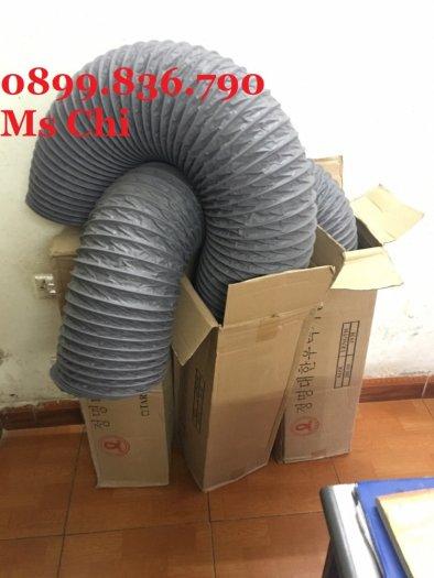 Báo giá ống gió mềm vải phi 125 hàn quốc.15