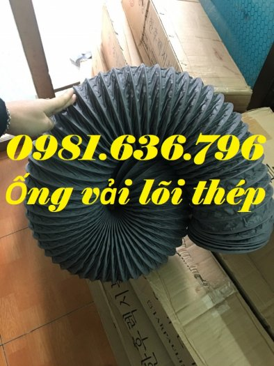 Báo giá ống gió mềm vải phi 125 hàn quốc.9