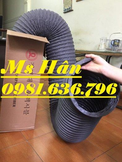 Báo giá ống gió mềm vải phi 125 hàn quốc.8