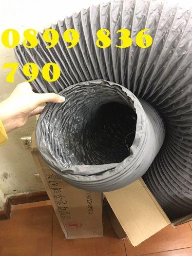 Báo giá ống gió mềm vải phi 125 hàn quốc.6