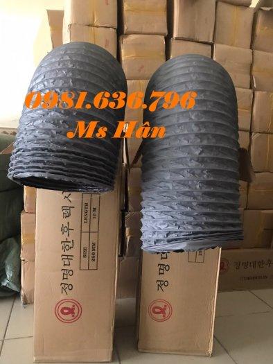 Báo giá ống gió mềm vải phi 125 hàn quốc.4