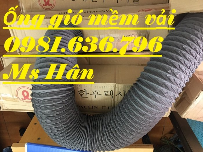 Ống thông gió, ống gió mềm phi 15015