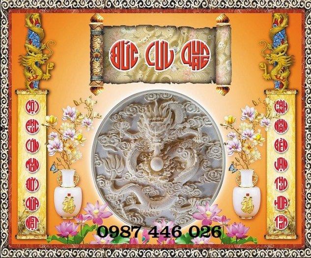Gạch tranh phòng thờ trang trí đẹp HP6300