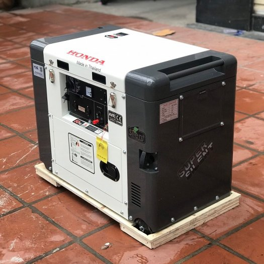 Máy phát điện chạy dầu Honda SD7800EC-5kw siêu chống ồn3