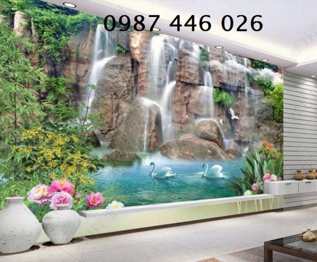 Gạch tranh phong cảnh thiên nhiên giao hòa HP37944
