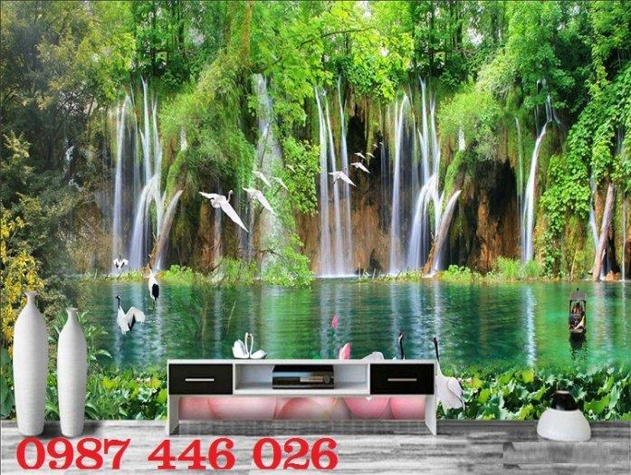 Gạch tranh phong cảnh thiên nhiên giao hòa HP37940