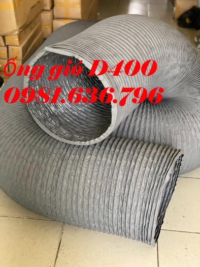 Ống gió mềm vải tarpaulin phi 300mm.22