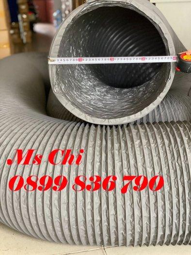 Ống gió mềm vải tarpaulin phi 300mm.21
