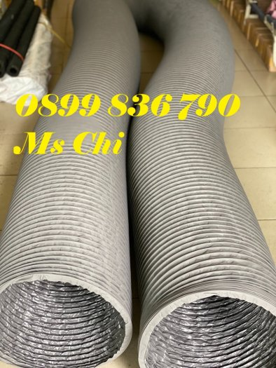 Ống gió mềm vải tarpaulin phi 300mm.18