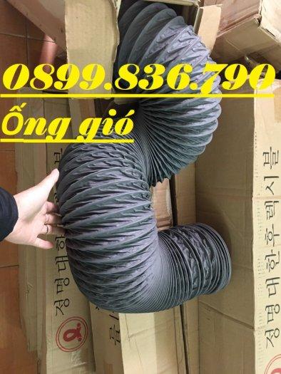 Ống gió mềm vải tarpaulin phi 300mm.8