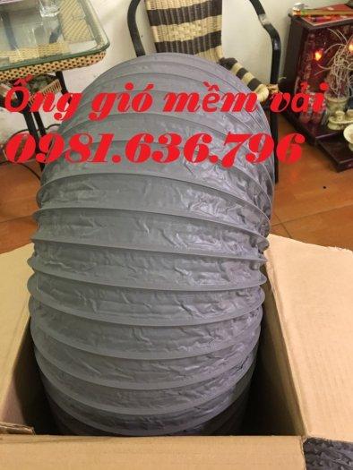 Ống gió mềm vải tarpaulin phi 300mm.4