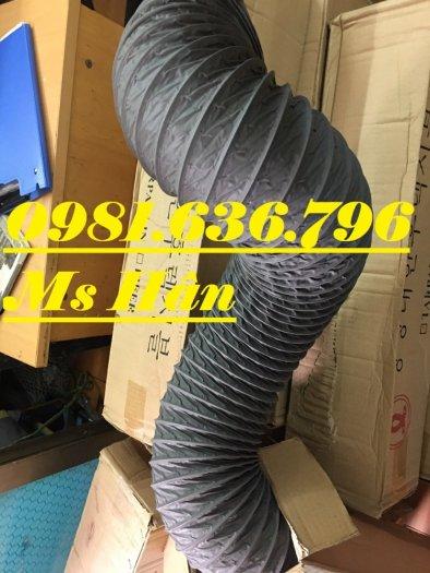 Ống gió mềm vải tarpaulin phi 300mm.1