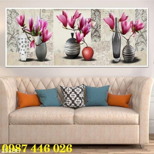 Bộ tranh gạch hoa lan Hp2931