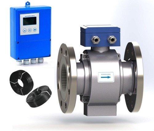 Đồng hồ đo nước điện từ Hàn Quốc| chính hãng Hansung1