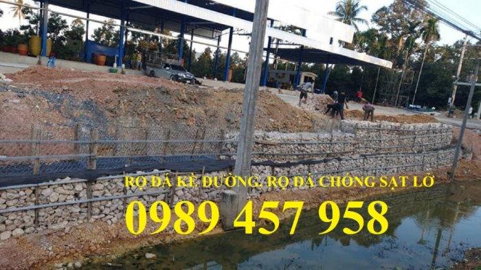 Rọ đá gia cố dập thủy điện, Rọ đá công trình tưới tiêu, Rọ đá bảo vệ chân cầu, cột điện9