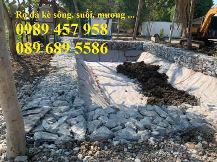 Rọ đá gia cố dập thủy điện, Rọ đá công trình tưới tiêu, Rọ đá bảo vệ chân cầu, cột điện5