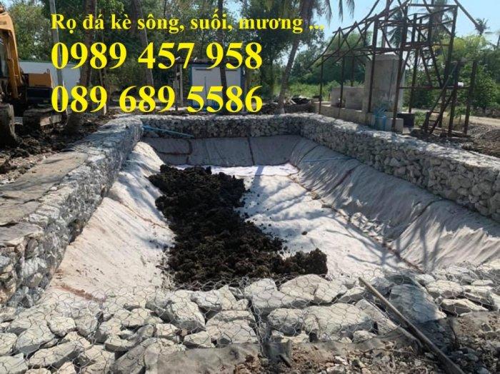 Rọ đá gia cố dập thủy điện, Rọ đá công trình tưới tiêu, Rọ đá bảo vệ chân cầu, cột điện4