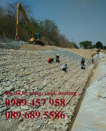 Rọ đá gia cố dập thủy điện, Rọ đá công trình tưới tiêu, Rọ đá bảo vệ chân cầu, cột điện3