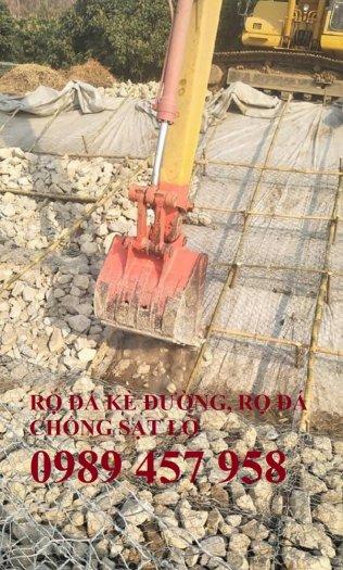Rọ đá gia cố dập thủy điện, Rọ đá công trình tưới tiêu, Rọ đá bảo vệ chân cầu, cột điện2