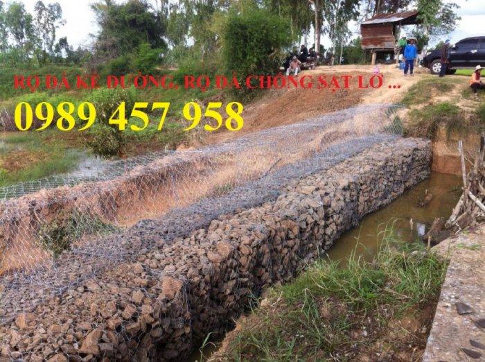 Rọ đá gia cố dập thủy điện, Rọ đá công trình tưới tiêu, Rọ đá bảo vệ chân cầu, cột điện0