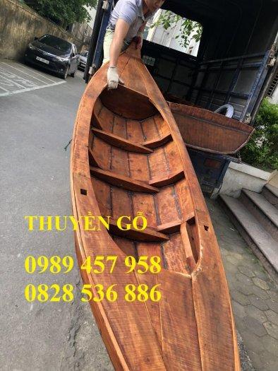Bán các loại Thuyền gỗ 4m, 5m, 6m, Thuyền gỗ trang trí nhà hàng, trang trí quán cafe3