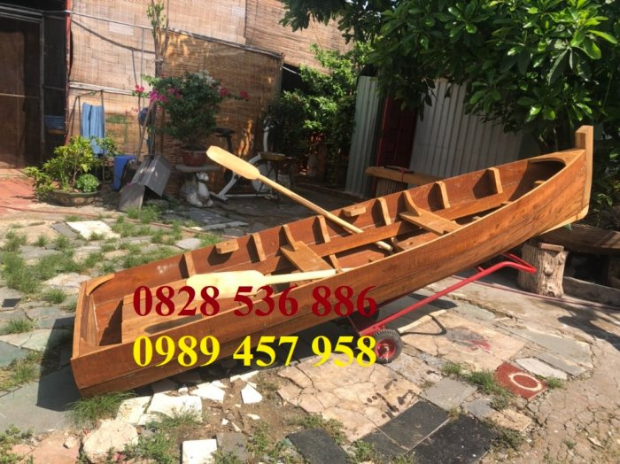 Bán các loại Thuyền gỗ 4m, 5m, 6m, Thuyền gỗ trang trí nhà hàng, trang trí quán cafe0