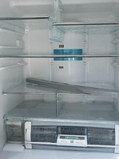 Tủ lạnh HITACHI R-C5200 6 cánh, mặt gương Xám xanh, 517Lít, Date 20135