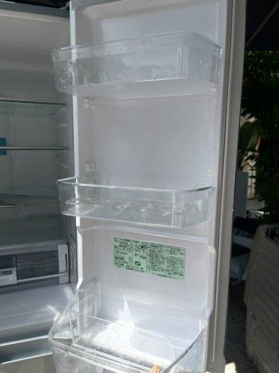 Tủ lạnh HITACHI R-C5200 6 cánh, mặt gương Xám xanh, 517Lít, Date 20133