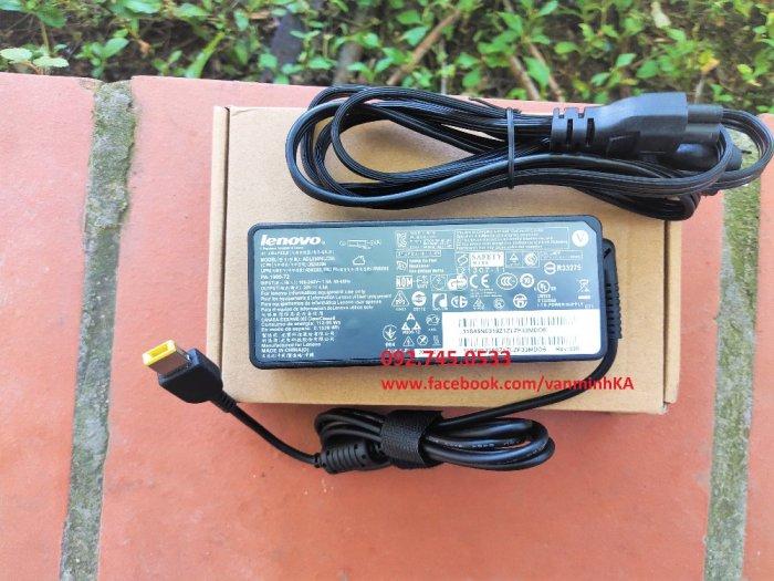 Sạc Sạc Lenovo Thinkpad 90W, chân vuông USB, xịn xò, giá rẻ.4