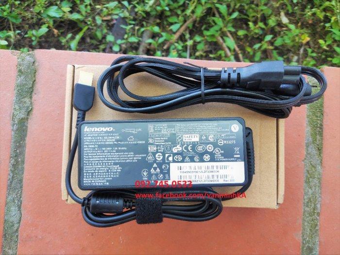 Sạc Sạc Lenovo Thinkpad 90W, chân vuông USB, xịn xò, giá rẻ.3