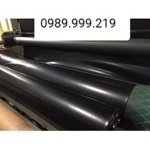 Bạt đen hdpe 5zem khổ 6m lót dải đường-kho long biên1