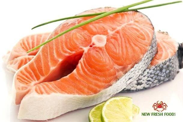 Cá Hồi Nauy Cắt Khoanh - New Fresh Foods6