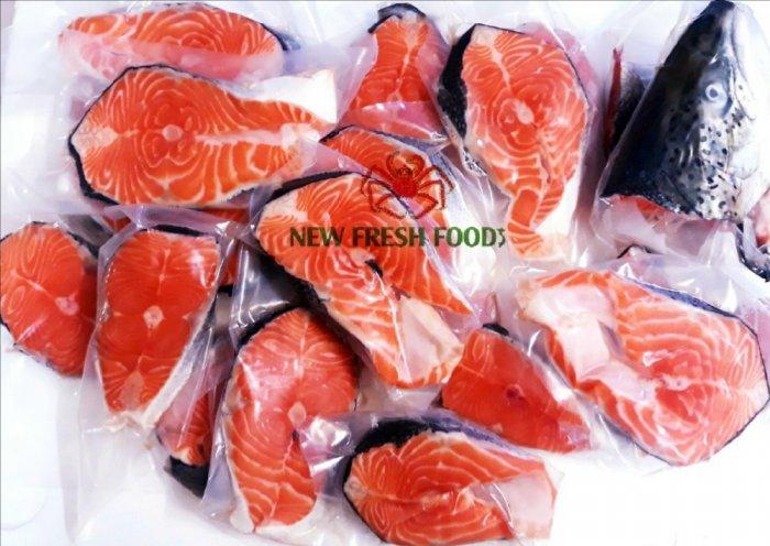 Cá Hồi Nauy Cắt Khoanh - New Fresh Foods1