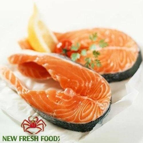 Cá Hồi Nauy Cắt Khoanh - New Fresh Foods0