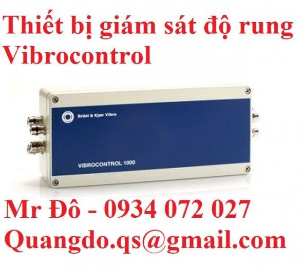 Vibrocontrol thiết bị giám sát độ rung0