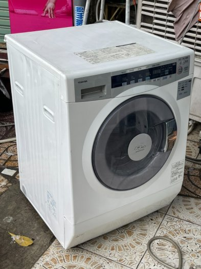 Máy giặt nội địa nhật TOSHIBA TW-S80FA - date 2010 giặt 8Kg sấy 4.5kg6