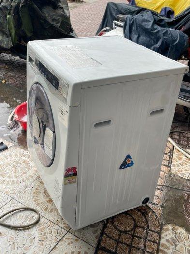 Máy giặt nội địa nhật TOSHIBA TW-S80FA - date 2010 giặt 8Kg sấy 4.5kg5